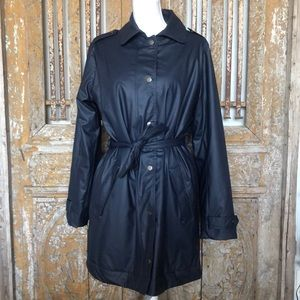 ETAGE DANISH OUTERWARE RAIN COAT Jacket TRENCH 8